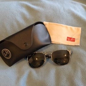 RayBan sunglasses with original case and cloth